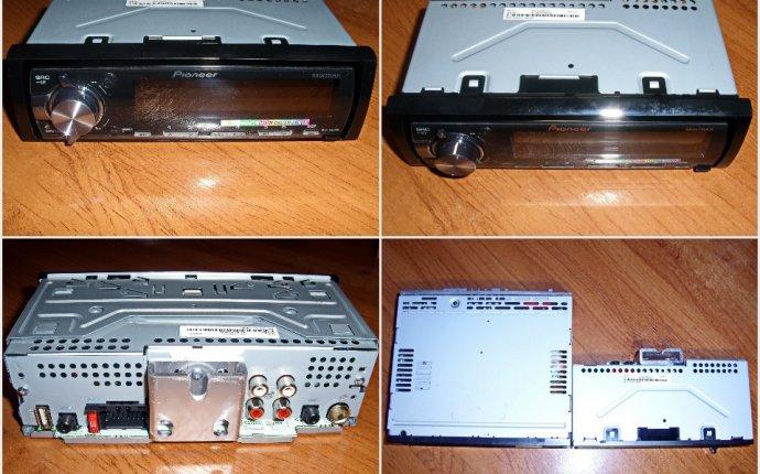 ► Автомагнитола Pioneer MVH-X460UI — бортжурнал KIA Spectra