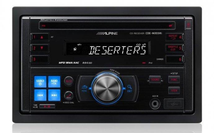 Автомагнитолы Alpine 2 Din-CD-MP3