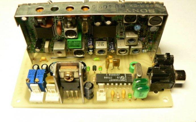 Daggerphase УКВ радиоприемник на основе тюнера автомагнитолы