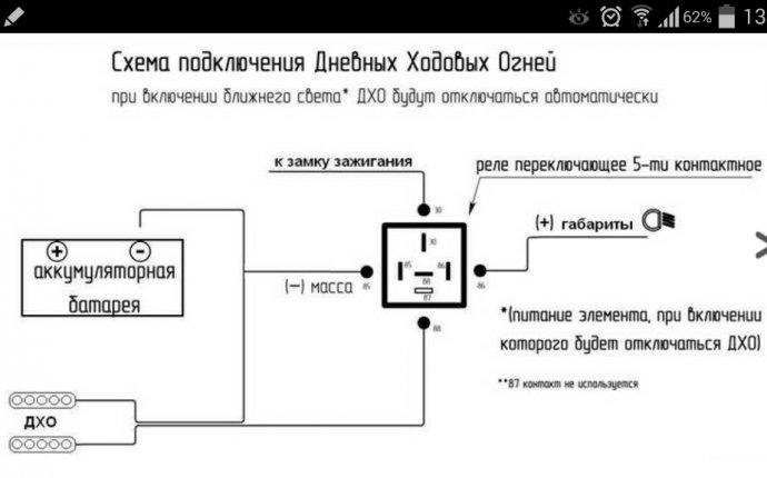 Правила установки схемы подключения ДХО и штрафы