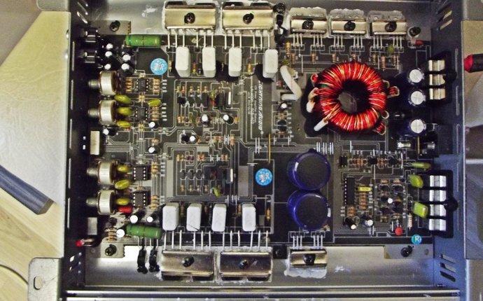 Ремонт автоусилителей звука - Ремонт автомобильного усилителя