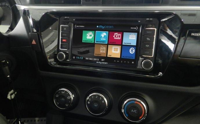 Toyota - Штатные магнитолы (Windows, Android) и камеры заднего