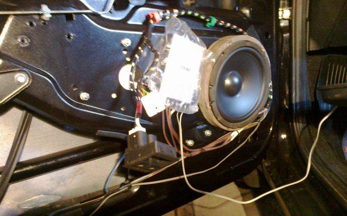 установка магнитолы, компонентной акустики, ну и без саба не