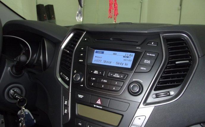Установка мультимедийной системы MyDean на Hyundai Santa Fe 2013