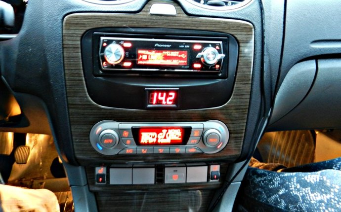 Замена магнитолы на 1 Din — бортжурнал Ford Focus Sedan 2008 года